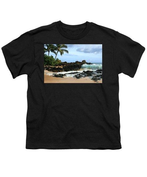 Lapiz Lazuli Stone Aloha Paako Aviaka Youth T-Shirt by Sharon Mau