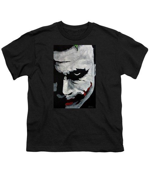 Ledger's Joker Youth T-Shirt