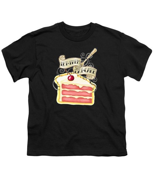 Let Them Eat Cake Traditional Tattoo Style Youth T-Shirt