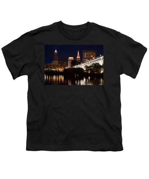 Lights In Cleveland Ohio Youth T-Shirt