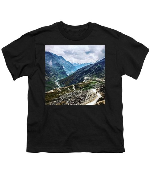 Long And Winding Roads Youth T-Shirt