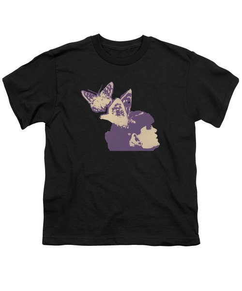 Long Gone Whisper - Amaranth Youth T-Shirt