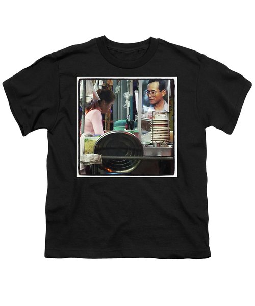 Youth T-Shirt featuring the photograph Long Live The King. Even After His by Mr Photojimsf