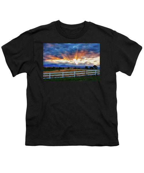 Youth T-Shirt featuring the photograph Love Is In The Air by James BO Insogna