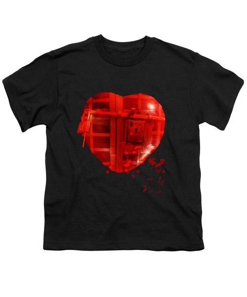 Love Locked Youth T-Shirt by Linda Lees