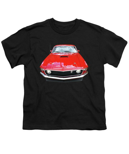 Mach1 Mustang 1969 Head On Youth T-Shirt