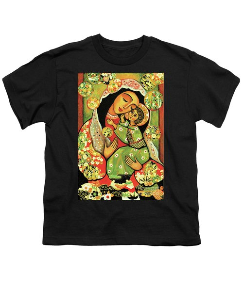 Madonna And Child Youth T-Shirt by Eva Campbell
