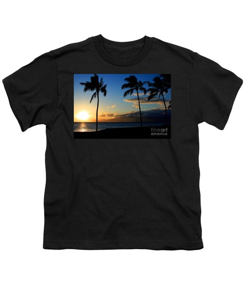 Mai Ka Aina Mai Ke Kai Kaanapali Maui Hawaii Youth T-Shirt