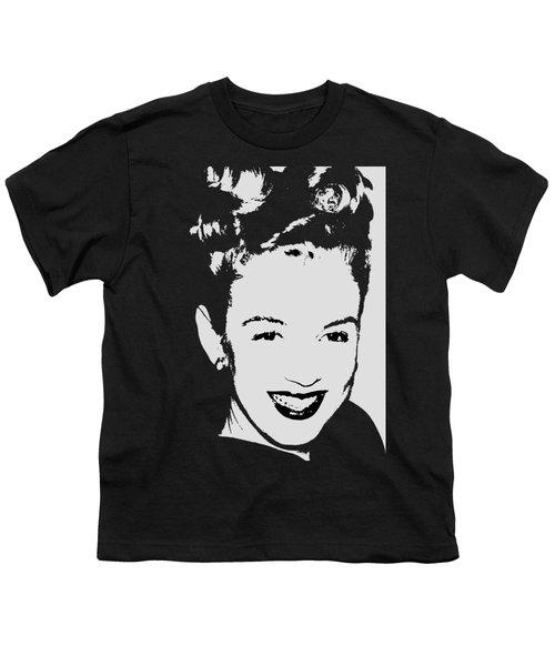 Marilyn Youth T-Shirt by Joann Vitali