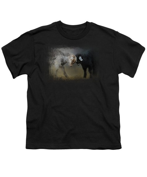Meeting Of The Minds Youth T-Shirt by Jai Johnson