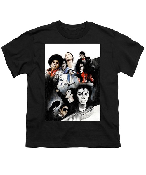 Michael Jackson - King Of Pop Youth T-Shirt
