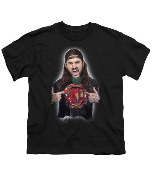 Mike Portnoy Youth T-Shirt by Melanie D
