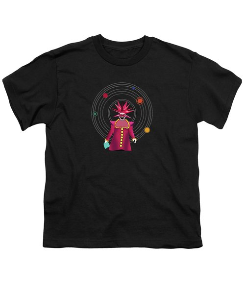 Minimal Space  Youth T-Shirt by Mark Ashkenazi