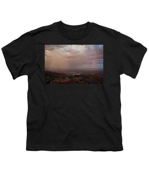 Monsoon Lightning And Rainbow Youth T-Shirt