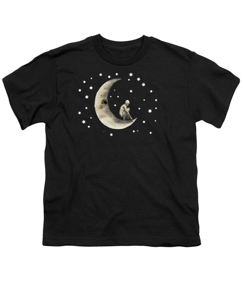 Moon And Stars T Shirt Design Youth T-Shirt