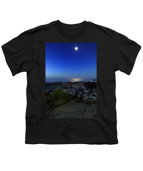 Moon Over Cadillac Youth T-Shirt