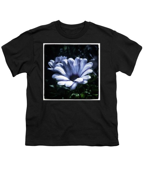 Youth T-Shirt featuring the photograph Moonlit Petals. From The Beautiful by Mr Photojimsf