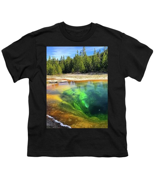 Morning Glory Pool Youth T-Shirt