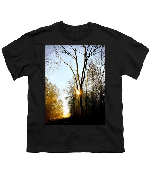 Morning Mood In The Forest Youth T-Shirt