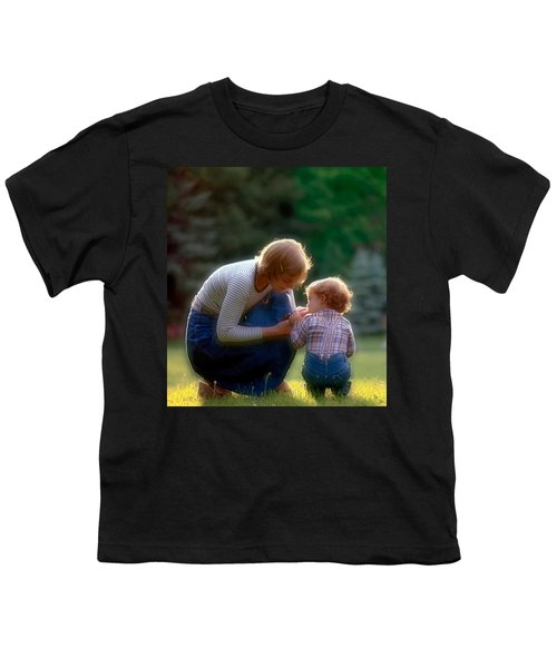 Mother With Kid Youth T-Shirt
