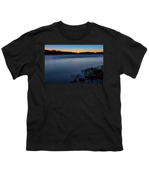 Youth T-Shirt featuring the photograph Mountain Lake Glow by James BO Insogna
