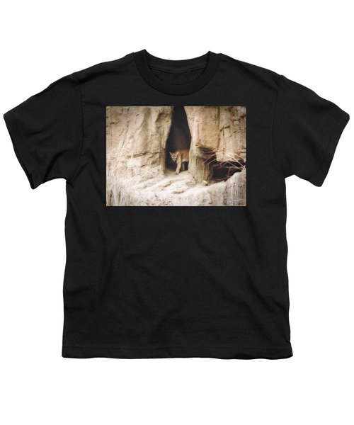 Mountain Lion - Light Youth T-Shirt