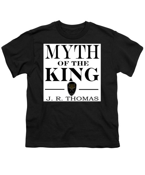 Youth T-Shirt featuring the digital art Myth Of The King Cover by Jayvon Thomas