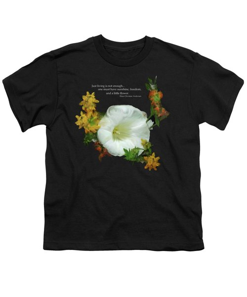 Need A Little Flower Youth T-Shirt