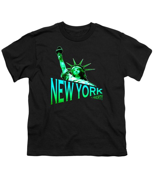 New York Liberty Design Youth T-Shirt