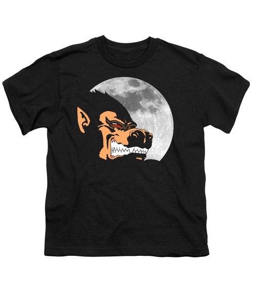 Night Monkey Youth T-Shirt by Danilo Caro