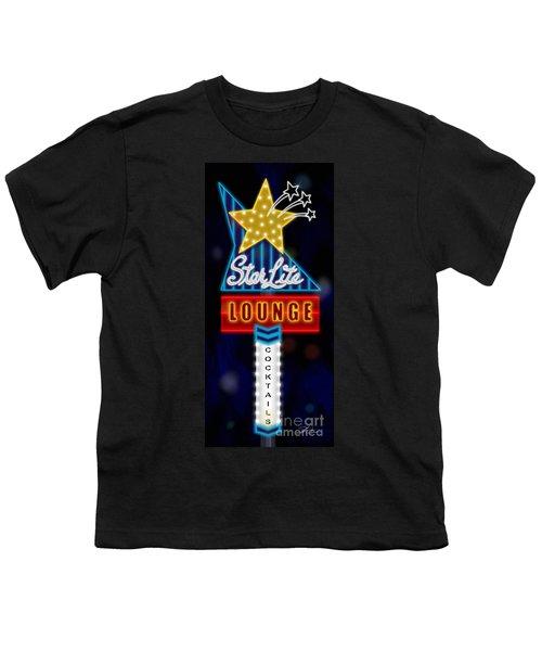 Nightclub Sign Starlite Lounge Youth T-Shirt