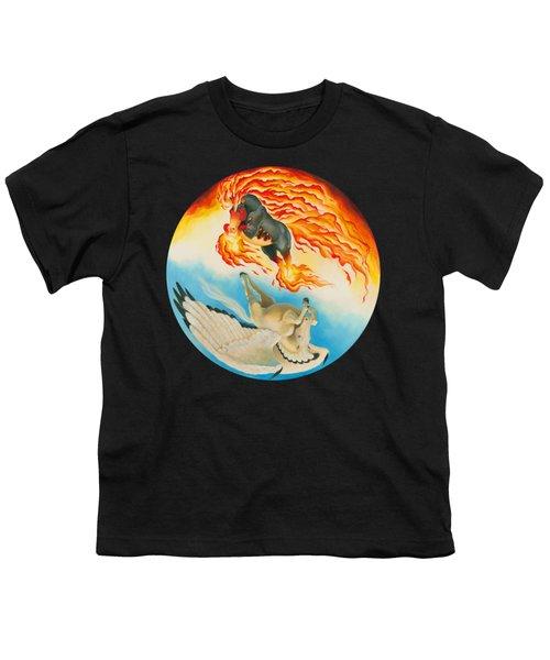 Nightmare And Mesa Pegasus Yin Yang Youth T-Shirt