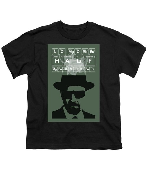 No More Half Measures - Breaking Bad Poster Walter White Quote Youth T-Shirt