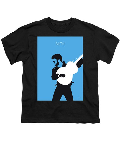 No089 My George Michael Minimal Music Poster Youth T-Shirt