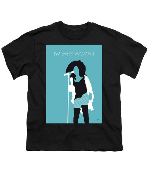 No155 My Chaka Khan Minimal Music Poster Youth T-Shirt