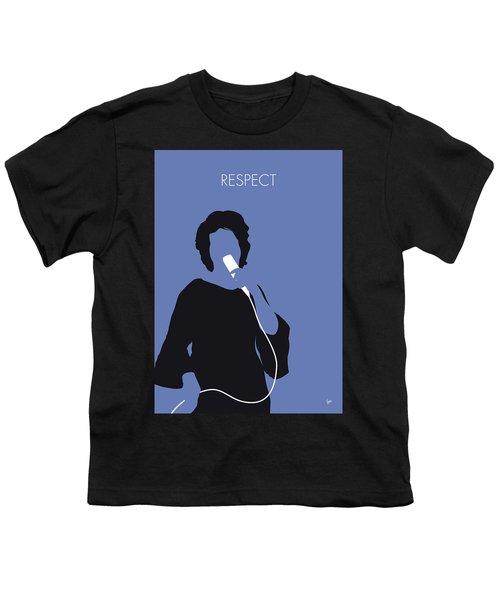 No188 My Aretha Franklin Minimal Music Poster Youth T-Shirt