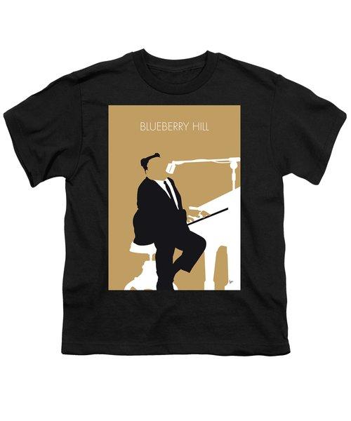 No190 My Fats Domino Minimal Music Poster Youth T-Shirt