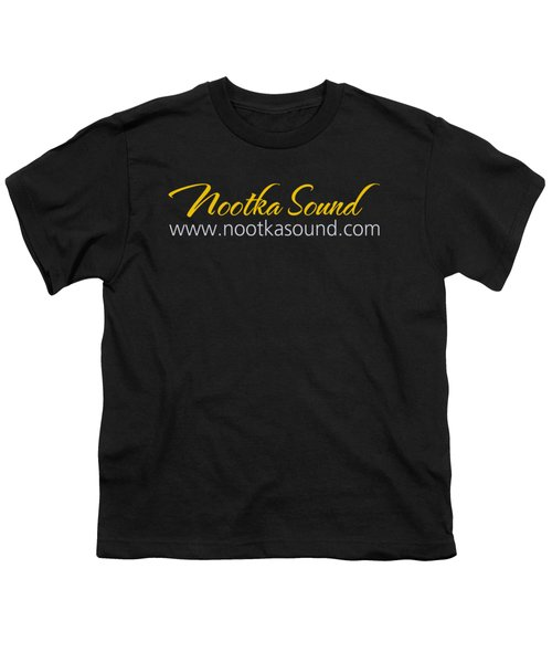 Nootka Sound Logo #5 Youth T-Shirt by Nootka Sound