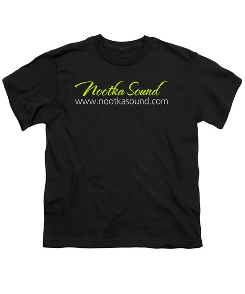 Nootka Sound Logo #6 Youth T-Shirt by Nootka Sound