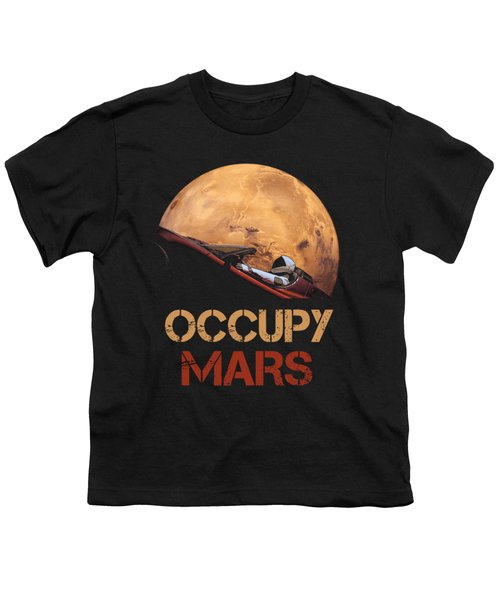 Occupy Mars Youth T-Shirt
