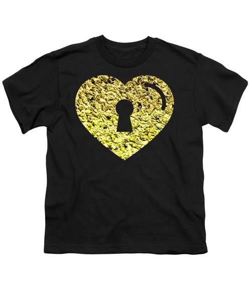 One Heart One Key 2 Youth T-Shirt