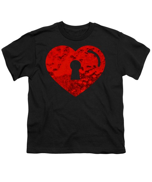 One Heart One Key Youth T-Shirt