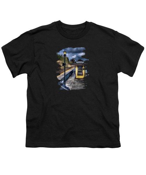 Oregon City Train Depot Youth T-Shirt by Thom Zehrfeld
