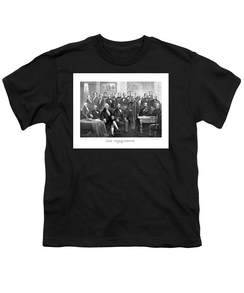 Our Presidents 1789-1881 Youth T-Shirt