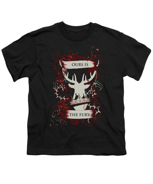 Ours Is The Fury Youth T-Shirt