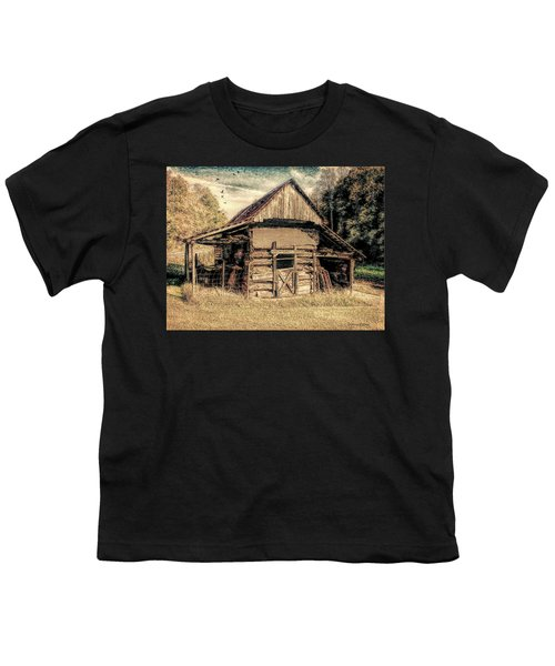 Out To Pasture 1 Youth T-Shirt by Bellesouth Studio