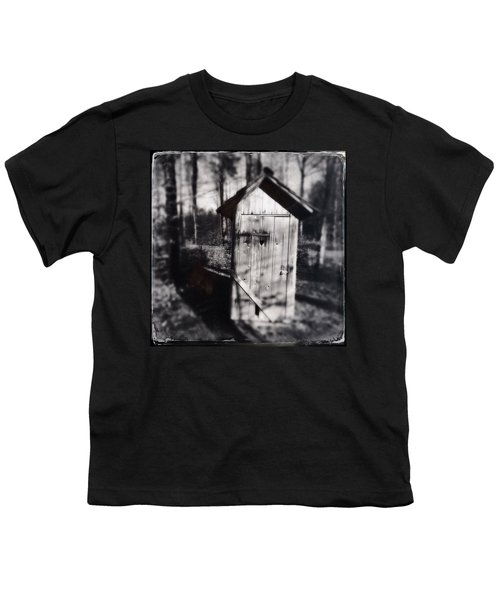 Outhouse Black And White Wetplate Youth T-Shirt