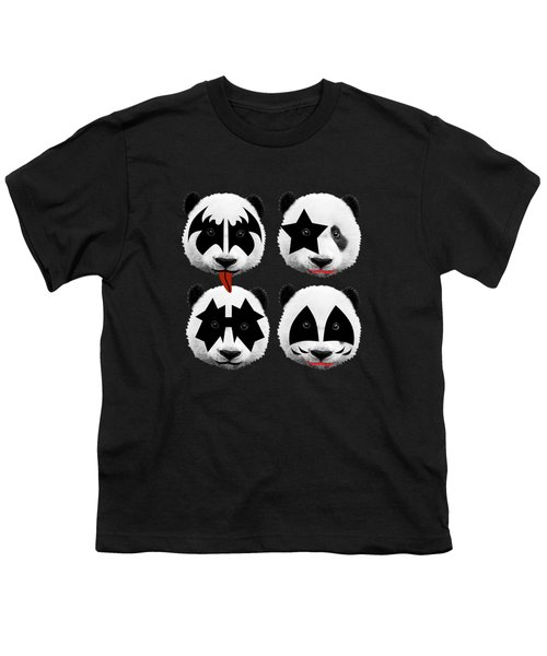 Panda Kiss  Youth T-Shirt