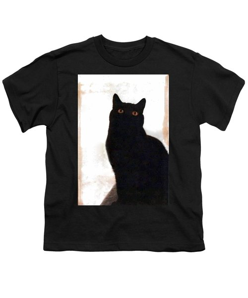 Panther The British Shorthair Cat Youth T-Shirt