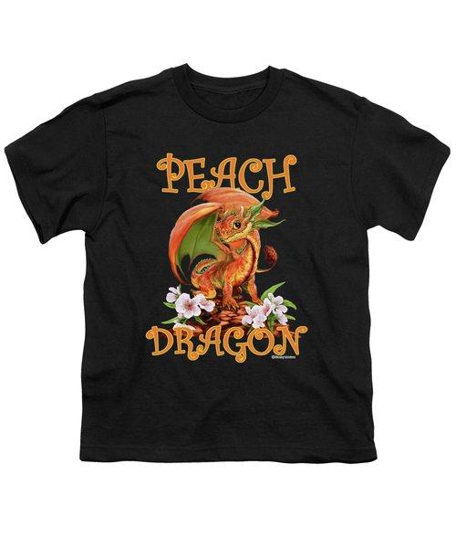 Peach Dragon Youth T-Shirt